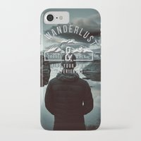 wanderlust iPhone & iPod Cases featuring Wanderlust by UtArt