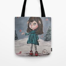 Harriette's Peppermint Wonderland Tote Bag