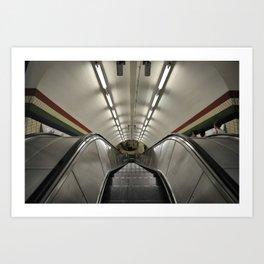 Tube  Art Print