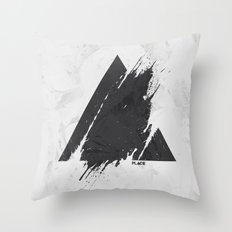 PLACE Triangle Throw Pillow