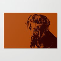the dude Canvas Prints featuring Dude by Brooke Copani