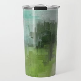 Spring Breeze Abstract Expressions Travel Mug