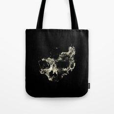 Skull in the Dark Tote Bag