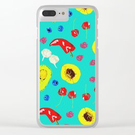 Food Medley Clear iPhone Case
