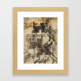 Cloud head Framed Art Print
