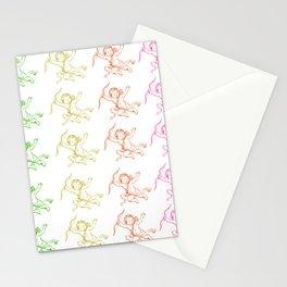 ROCCOC POP ART PATTERN CHERUB Stationery Cards