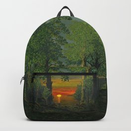 Forest Sunset Backpack
