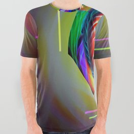 Abstract in perfection 121 All Over Graphic Tee