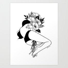 Energy Saving Mode Art Print