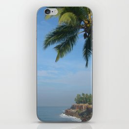 Palm Trees on the Cliff Varkala iPhone Skin