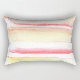 170603 Watercolour Colour Study 10  |Modern Watercolor Art | Abstract Watercolors Rectangular Pillow