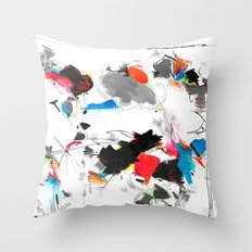 Tribute to Tinguely Throw Pillow
