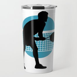 TENNIS indoor Return Net Travel Mug