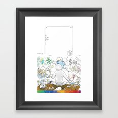 you're COLOR - Page 10 Framed Art Print