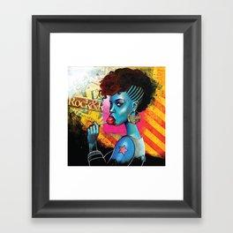 Pop Sucks Framed Art Print