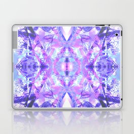 Mandala - Abstract Pink & Purple Butterfly Laptop & iPad Skin