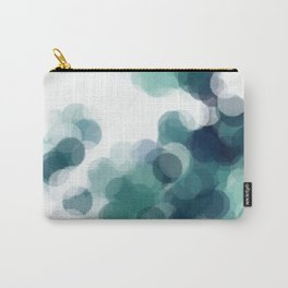 Green Bubbles #Society6 #Art #1 Carry-All Pouch