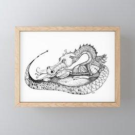 Dragon Eggs Framed Mini Art Print