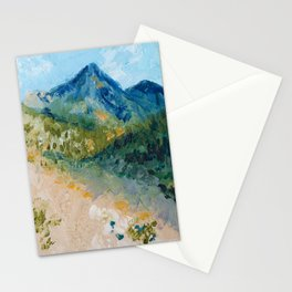 Mountain Landscape Stationery Cards