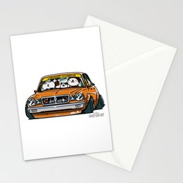 Crazy Car Art 0146 Stationery Cards
