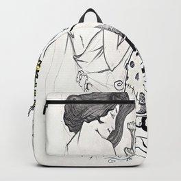 Flowers Figure Backpack