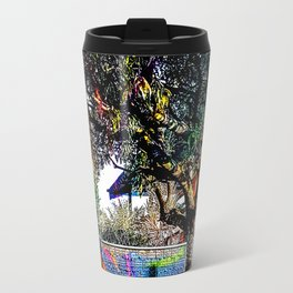 Colorful tree Travel Mug