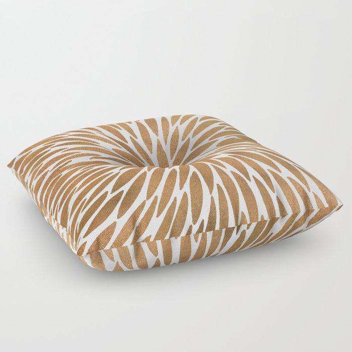 Rose Gold Burst Floor Pillow