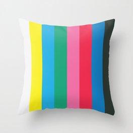 testcolor #19 Throw Pillow