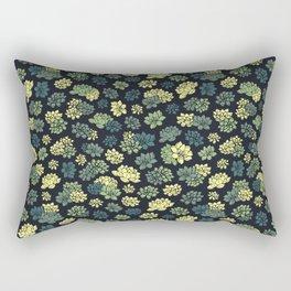 Succulents Pattern Rectangular Pillow