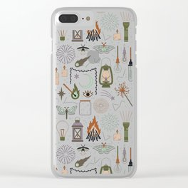 Light the Way Clear iPhone Case