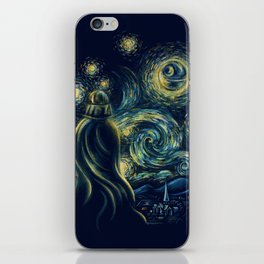 Death Starry Night iPhone Skin