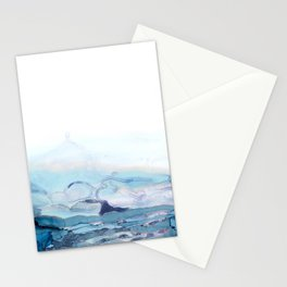 Indigo Abstract Painting | No.6 Stationery Cards