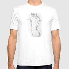 Cold Water Mens Fitted Tee White MEDIUM