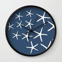 Nautical Starfish Sea Stars Wall Clock