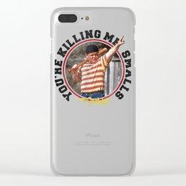 The Sandlot Ham Killing Me Smalls Red T Shirt Clear iPhone Case