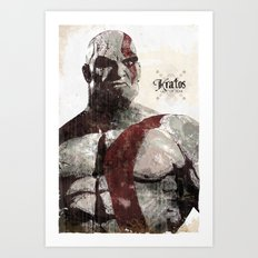 God Of War Art Print