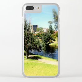 Adelaide Torrens River and CBD Clear iPhone Case