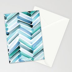 Cycladic Chevron Stationery Cards
