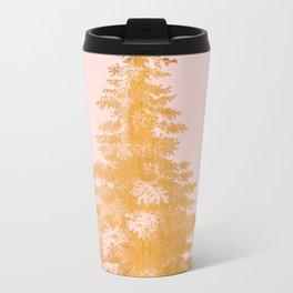 Christmas Tree Gold Travel Mug