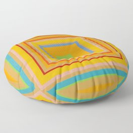 """""""Lemonade Shade"""" Op art Floor Pillow"""