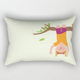 Positively Girly - tree Rectangular Pillow