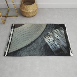 Leica and hat Rug