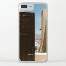 Cabo Door Clear iPhone Case