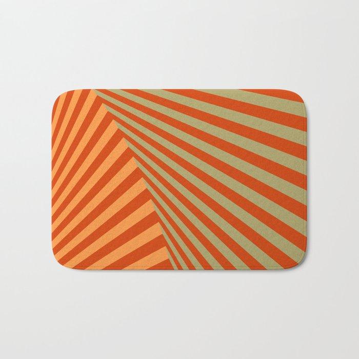 geometric composition 06 Bath Mat