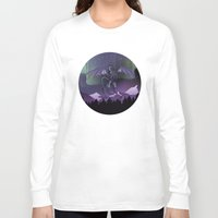 aurora Long Sleeve T-shirts featuring Aurora by Melissa Dekker