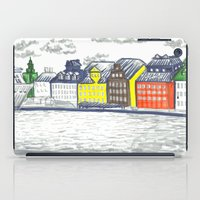 stockholm iPad Cases featuring Stockholm Syndrome by Hannah Cone
