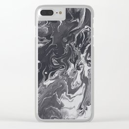 IT'S HARD TO GET AROUND THE WIND Clear iPhone Case