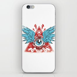 Pyramid Eye iPhone Skin