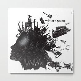 The Queen of Winter Metal Print