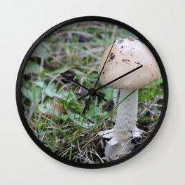 Fungi #2 Minnesota Mushroom Wall Clock